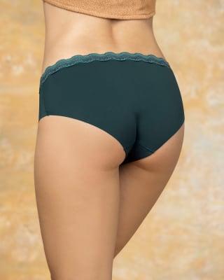 panty hipster con encaje en cintura tiro medio-650- Verde Botella-MainImage
