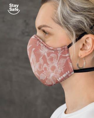 tapabocas hermetico proteccion triple capa tecnologia antifluido y antibacterial-354- Rosa Floral-MainImage