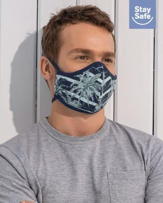 tapabocas hermetico proteccion triple capa tecnologia antifluido y antibacterial - unisex-548- Azul Oscuro-MainImage