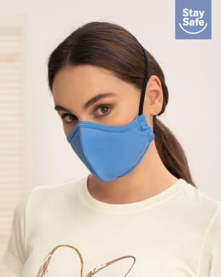 tapabocas hermetico proteccion triple capa tecnologia antifluido y antibacterial - unisex-902- Azul-MainImage