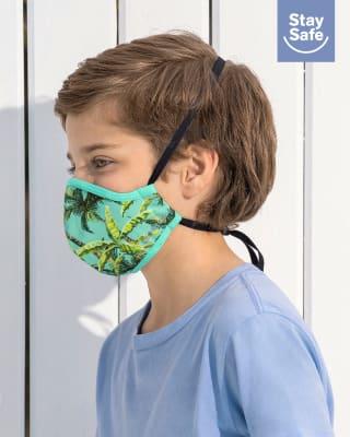 tapabocas infantil hermetico proteccion triple capa tecnologia antifluido y antibacterial - unisex-601- Verde-MainImage