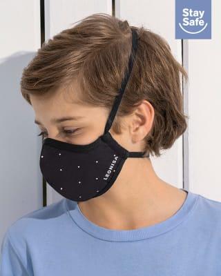 tapabocas infantil hermetico proteccion triple capa tecnologia antifluido y antibacterial - unisex-780- Black-MainImage
