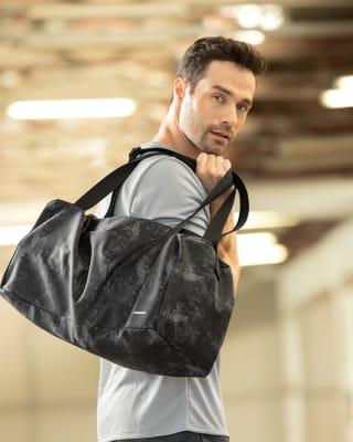 maletin deportivo multiusos con cargadera ajustable-145- Estampado Negro-MainImage