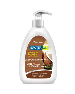 jabon liquido antibacterial coco and vainilla bacterion 300ml-Coco/Vainilla-MainImage