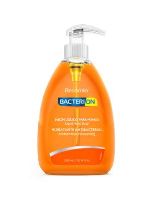 jabon liquido antibacterial bacterion 300ml-Hidratante/Antibacterial-MainImage