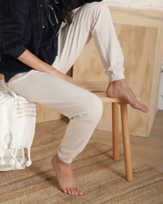 pantalon largo de pijama en tela afelpada - bronzini-882- Arena-MainImage