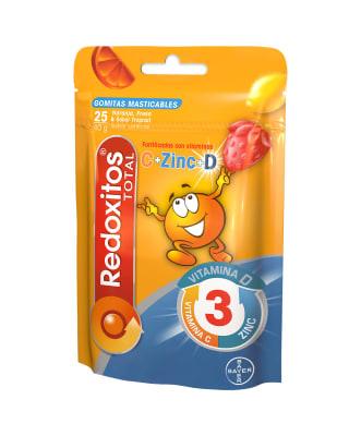 redoxitos total vitaminas c  d  zinc bolsa x 25 gomas-Sin Color-MainImage