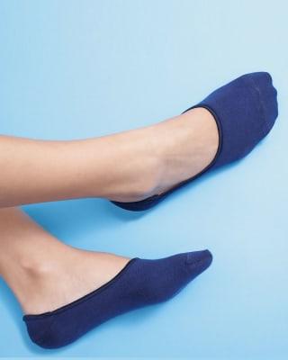 calcetin invisible de algodon - sensacion de no llevar medias-547- Azul-MainImage