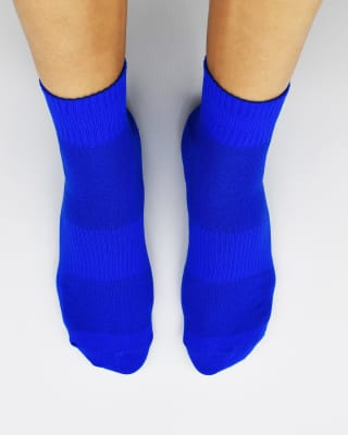 calcetin de nylon ideal para ciclismo-547- Azul-MainImage