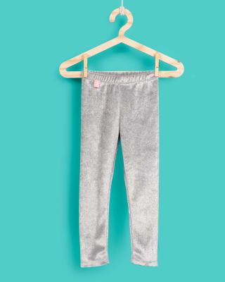 legging con suave terciopelo y glitter para nina-245- Gris Claro-MainImage