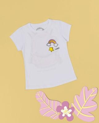 camiseta nina en algodon estampado en frente y espalda-208- Blanco Est-MainImage