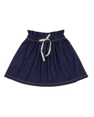 falda elastica de jean para nina-547- Azul-MainImage