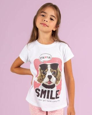camiseta manga corta con glitter rosa para nina-081- Fondo Blanco-MainImage