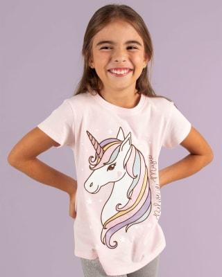 camiseta nina manga corta con brillo tornasol-093- Fondo Rosa-MainImage