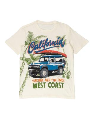camiseta nino con estampado en 3d y manga corta-088- Marfil Estampado-MainImage