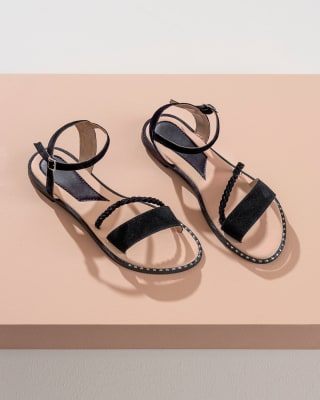 sandalias femeninas con decoracion de taches-700- Black-MainImage