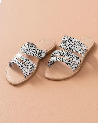 sandalias femeninas suela plana-097- Blanco y Negro-MainImage