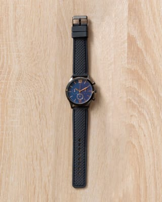 reloj masculino con fondo de pantalla azul-700- Negro-MainImage