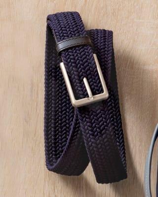 cinturon masculino color negro y trenza azul-024- Azul Oscuro-MainImage