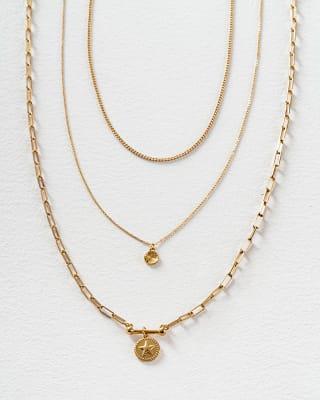 set x3 collares en color dorado-127- Dorado-MainImage