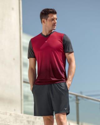 camiseta manga corta silueta semi ajustada-145- Red-MainImage