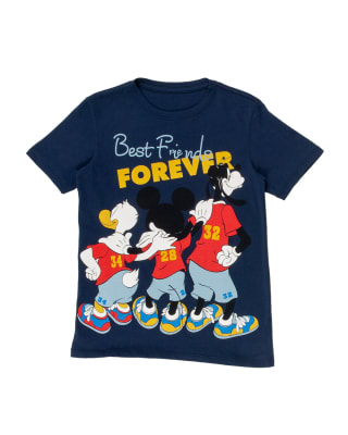 camiseta nino estampado relieve 3d y manga corta-457- Azul Oscuro-MainImage