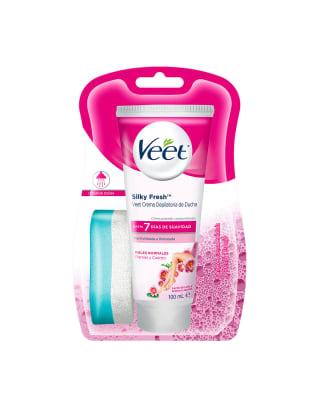 veet crema depilatoria corporal de ducha pieles normales-Sin Color-MainImage