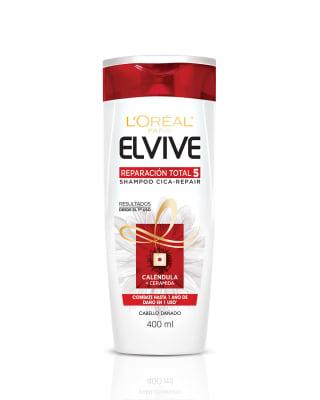 elvive reparacion total 5 shampoo cica- repair-Sin Color-MainImage
