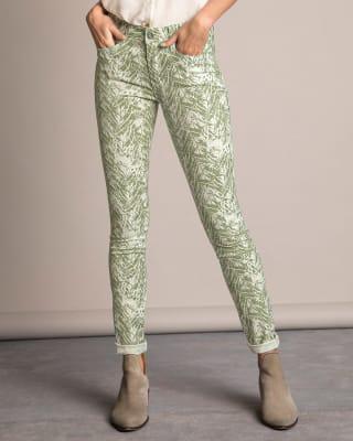 pantalon skinny silueta semi-ajustada bolsillos funcionales-077- Estampado-MainImage