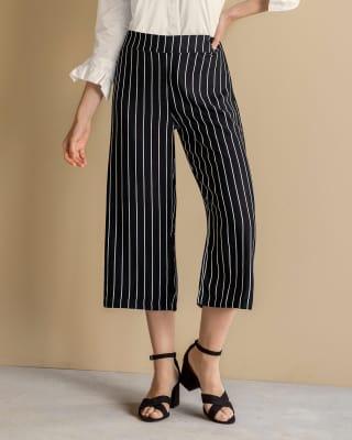 pantalon corto estilo culotte elastico en cintura trasera-145- Print-MainImage