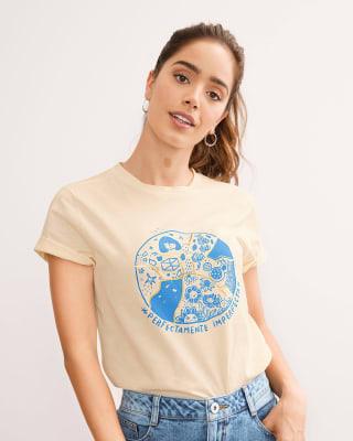 camiseta manga corta con mensaje en el frente-084- Arena-MainImage