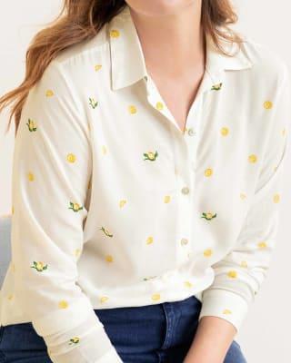 blusa manga larga con abertura en espalda-145- Estampado-MainImage