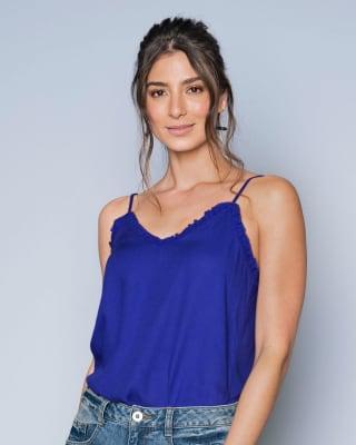 blusa tiritas con detalle en escote-570- Azul-MainImage