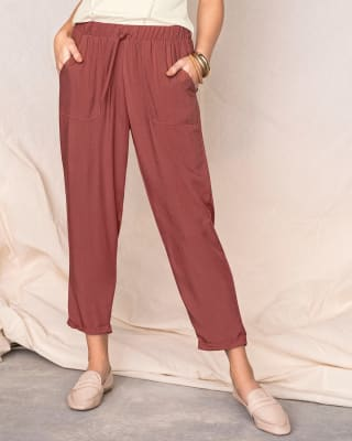pantalon bota recta de silueta semiajustada con bolsillos funcionales-221- Terracota-MainImage