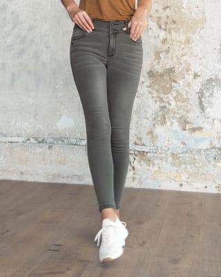 magic jean super skinny de tiro alto levanta cola-711- Gris-MainImage