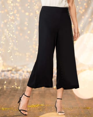 pantalon cropped de silueta amplia-700- Black-MainImage