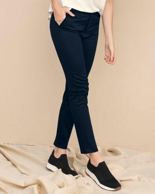 pantalon skinny de tiro alto con bolsillos delanteros funcionales-024- Azul Oscuro-MainImage