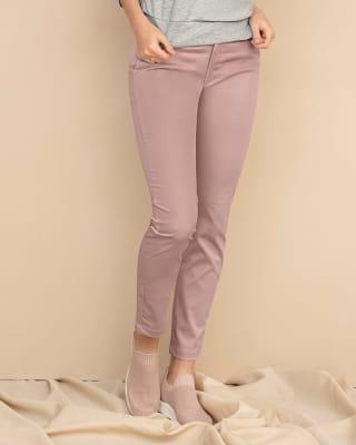 pantalon skinny de tiro alto con bolsillos delanteros funcionales-180- Palo de Rosa-MainImage