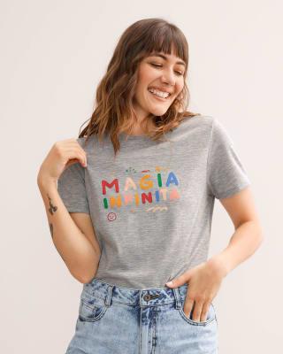 camiseta manga corta estampada para mujer-717- Gris Jaspe-MainImage
