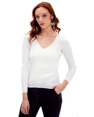 buzo manga larga cuello v - fuera de serie-000- Blanco-MainImage