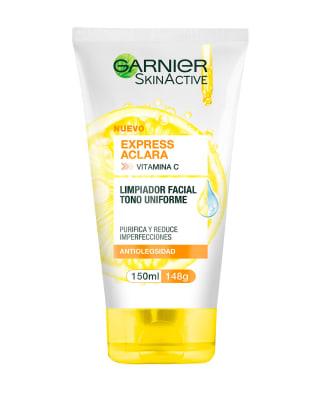 limpiador facial tipo gel tono uniforme garnier skin active-SIN- COLOR-MainImage