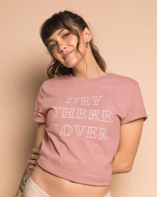 camiseta en algodon manga corta con estampado localizado-318- Palo de Rosa-MainImage