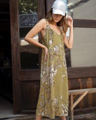 vestido midi de tiritas silueta amplia-061- Estampado-MainImage