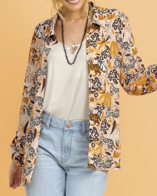 blusa silueta amplia con bolsillo lateral-145- Estampado-MainImage