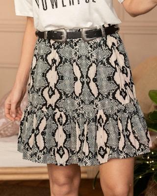 falda corta con elastico en pretina silueta semiajustada-145- Estampado-MainImage