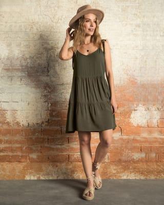vestido corto de tiritas y silueta amplia--MainImage