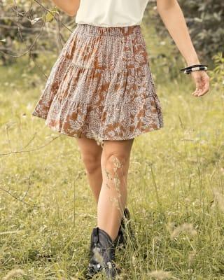 falda corta con elastico en pretina-179- Estampado-MainImage