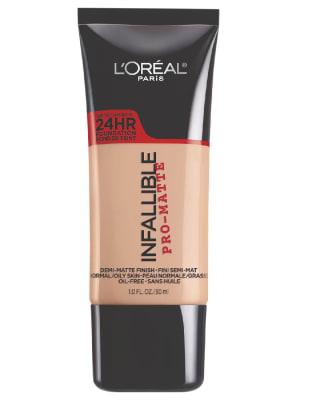 base infallible pro-matte 24 hr foundation - loreal-803- Shell beige-MainImage