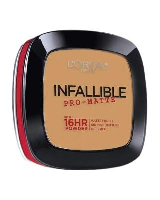 polvo infallible pro-matte 6hr powder - loreal-807- Sun beige-MainImage