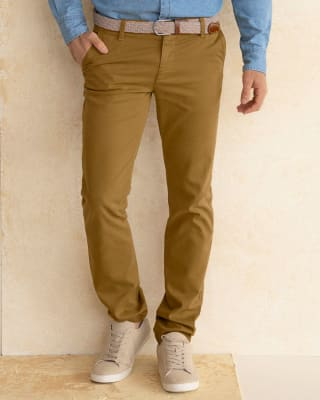 pantalon texas silueta semi ajustada-820- Camel-MainImage